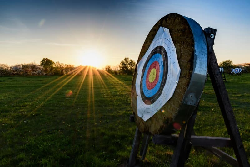 Can You Leave Archery Targets Outside