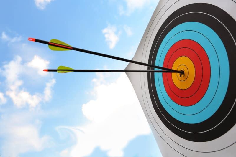How long do archery targets last