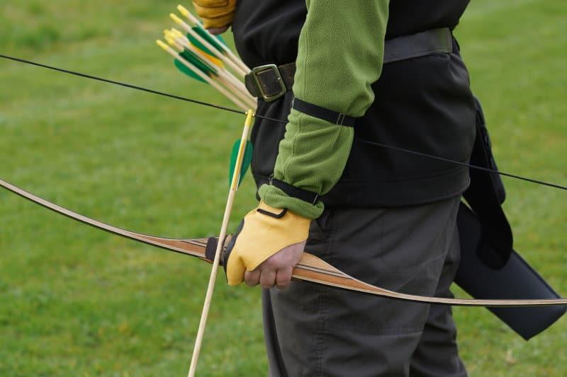 A Dry Archery String