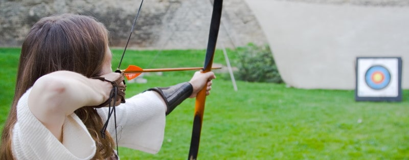 Arrow Rests, Longbows and Steadying by Hand