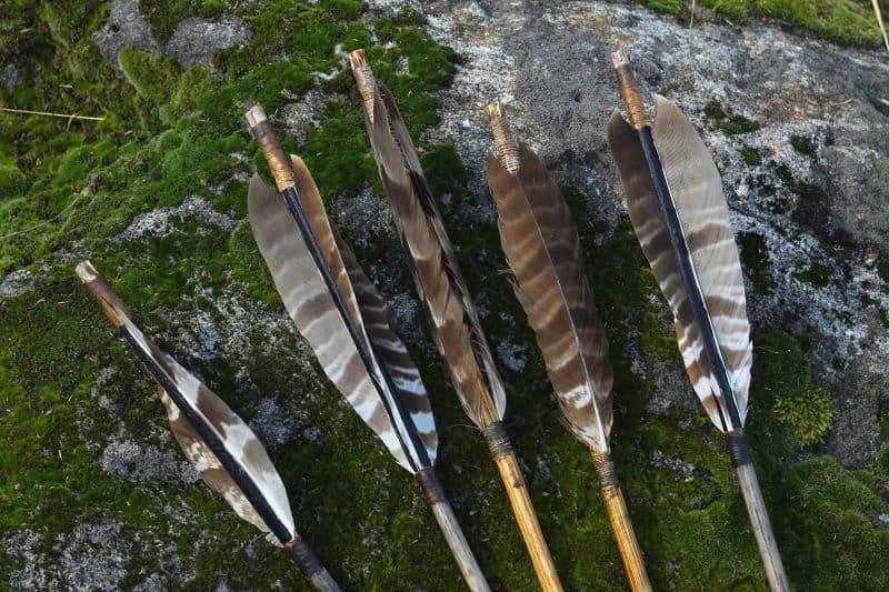 Have Arrows Always Used Fletching